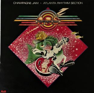 Atlanta Rhythm Section ‎- Champagne Jam (LP) (EX-/G++)